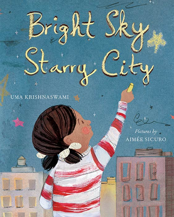 Bright Sky, Starry City Cover, Groundwood Books