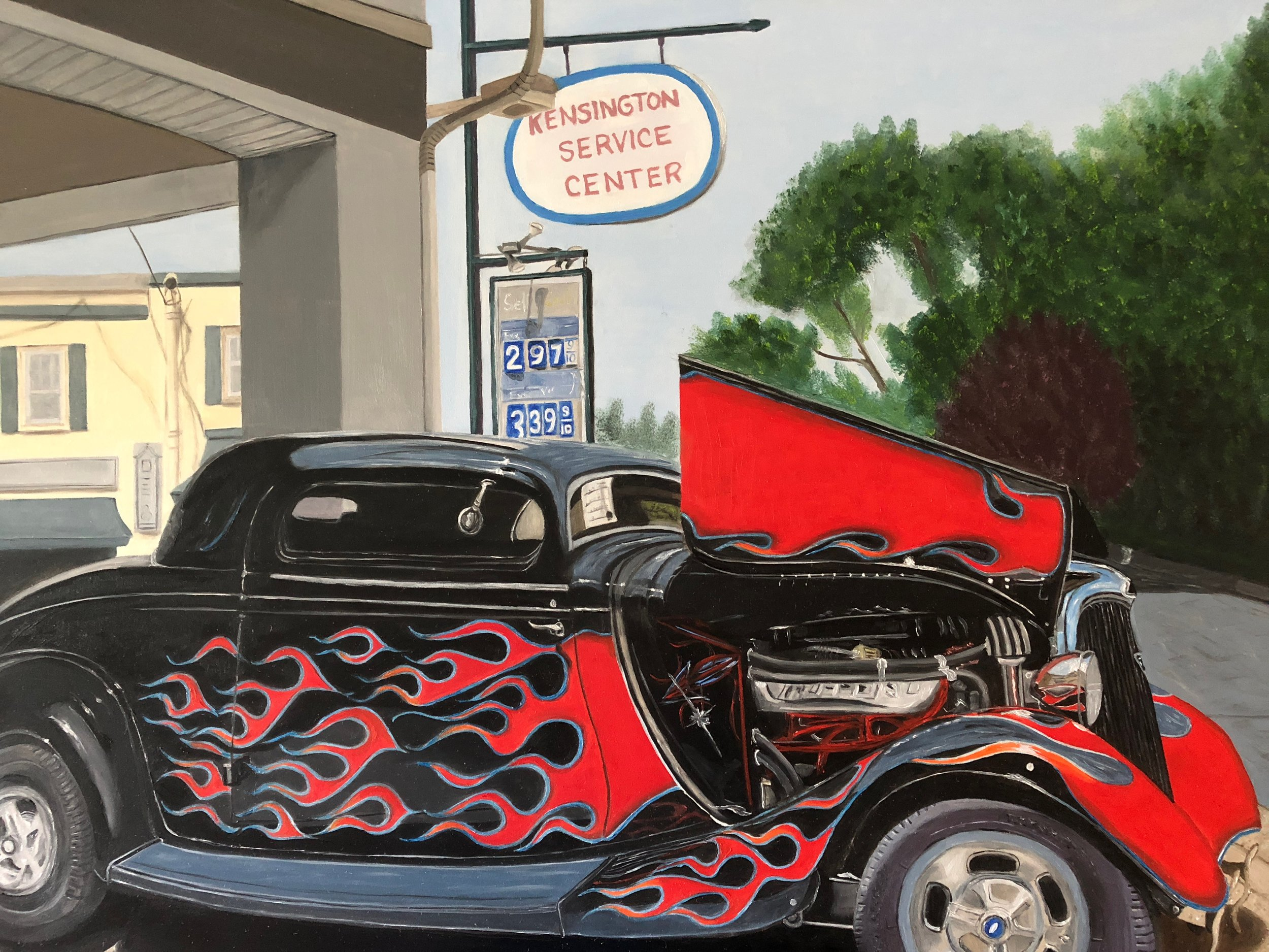 Kensington Car Show