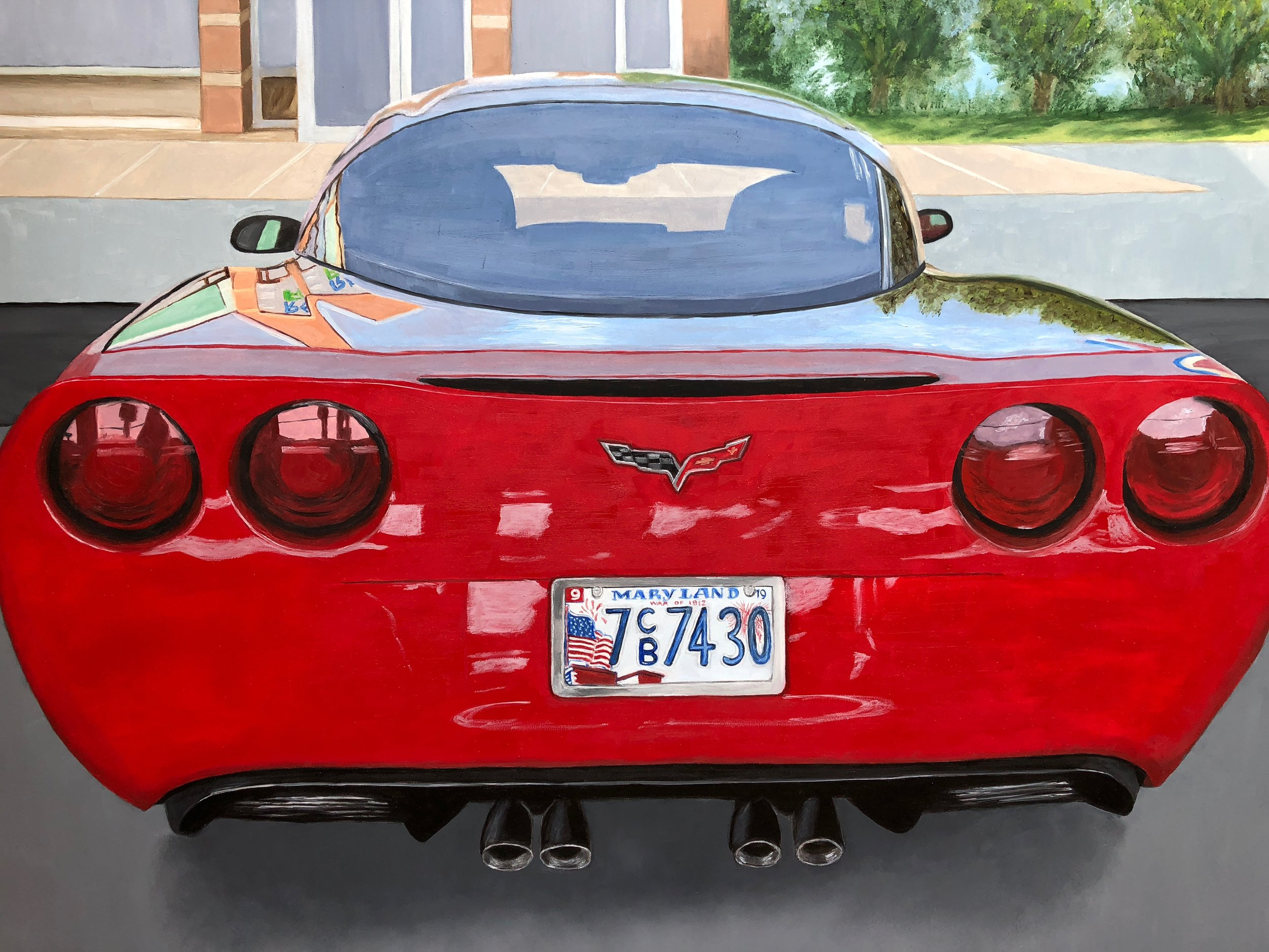 Corvette Reflections