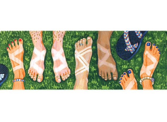 Or just buy one of these amazing  Chaco tan bumper stickers  from Adrienne Langer on Etsy!