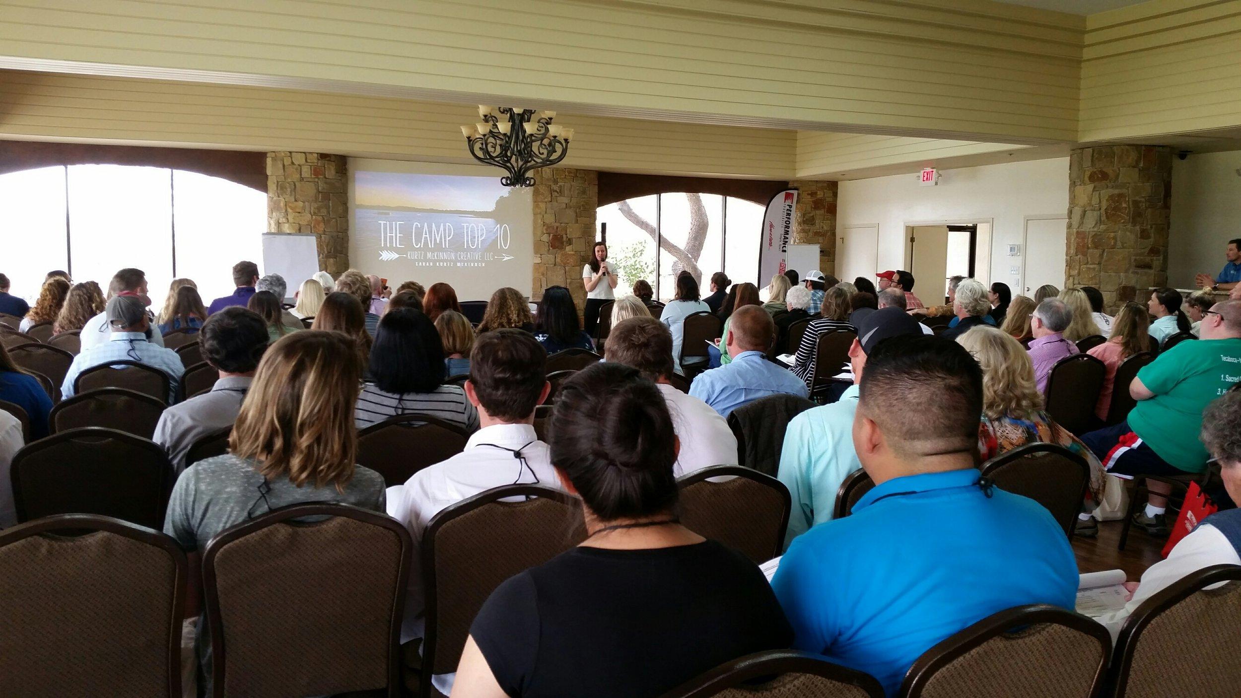 CAMPference Keynote Presentation - Boerne, TX