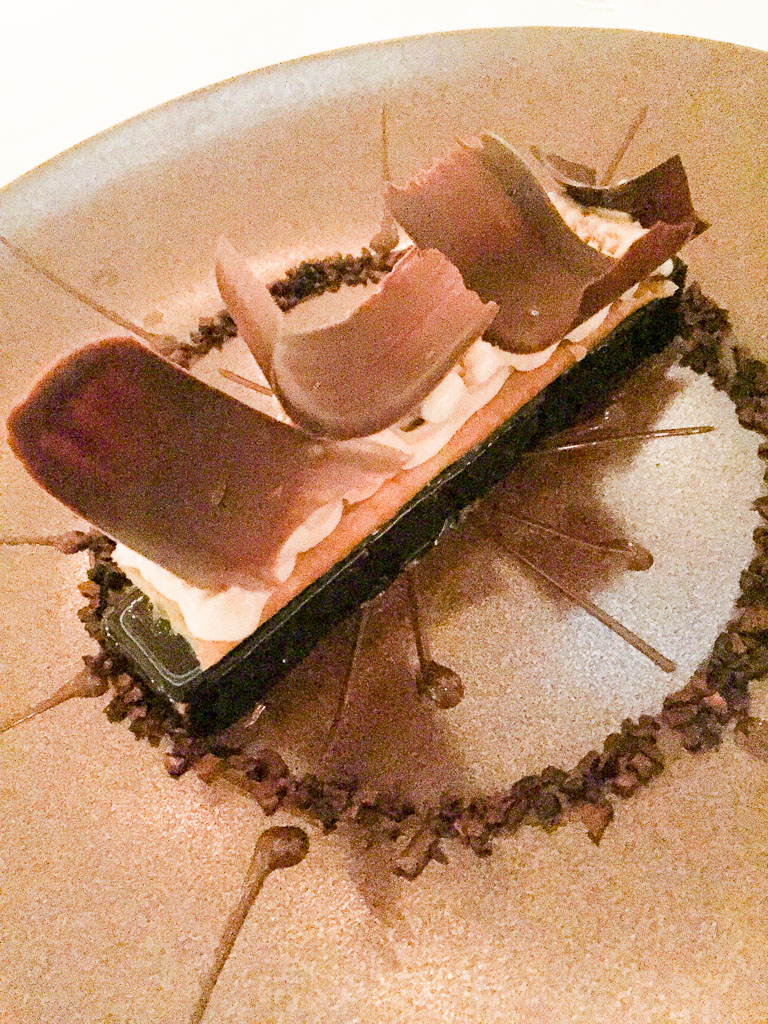 9th Course: Chocolate Tarte, 9/10