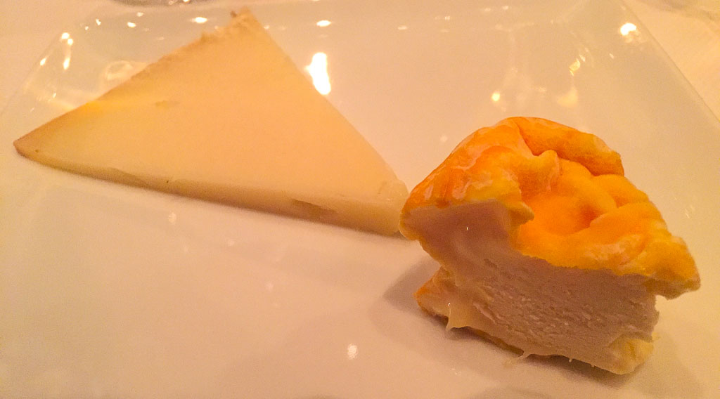 5th Course: Cheese, 9/10