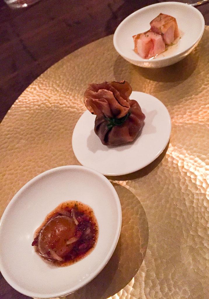 First Bites Continued: Unlaid Egg + Beggar's Purse + Drunken Chicken, 9/10