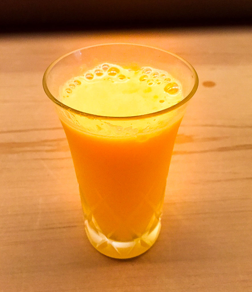14th Course: Orange Juice, 7/10