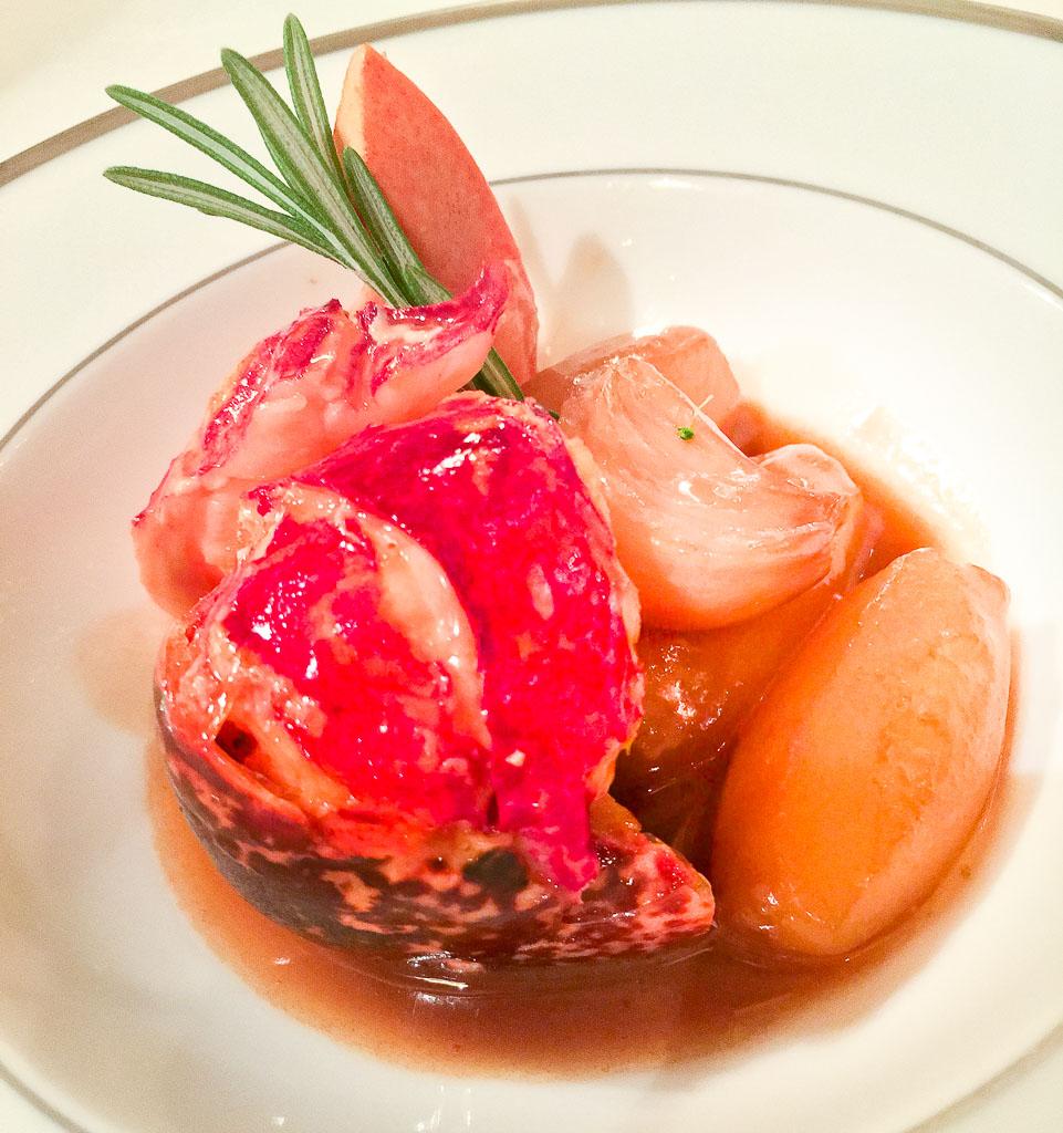 Course 3: Lobster + Garlic, 8/10