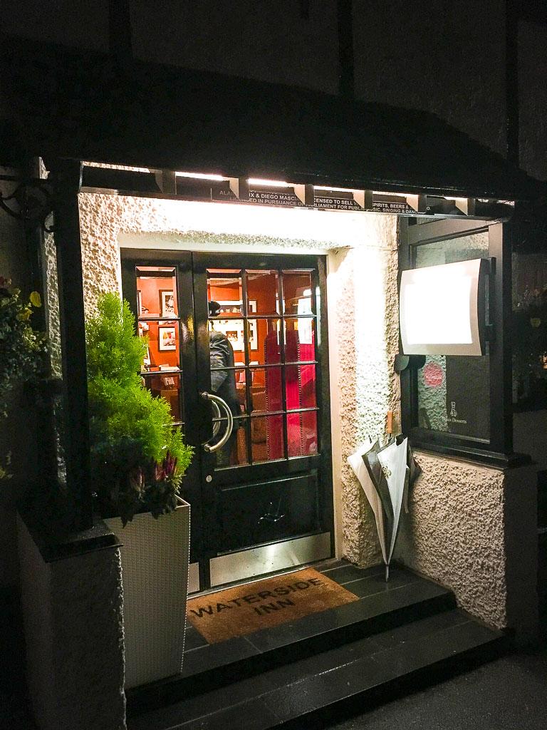 Waterside Inn Main Entrance