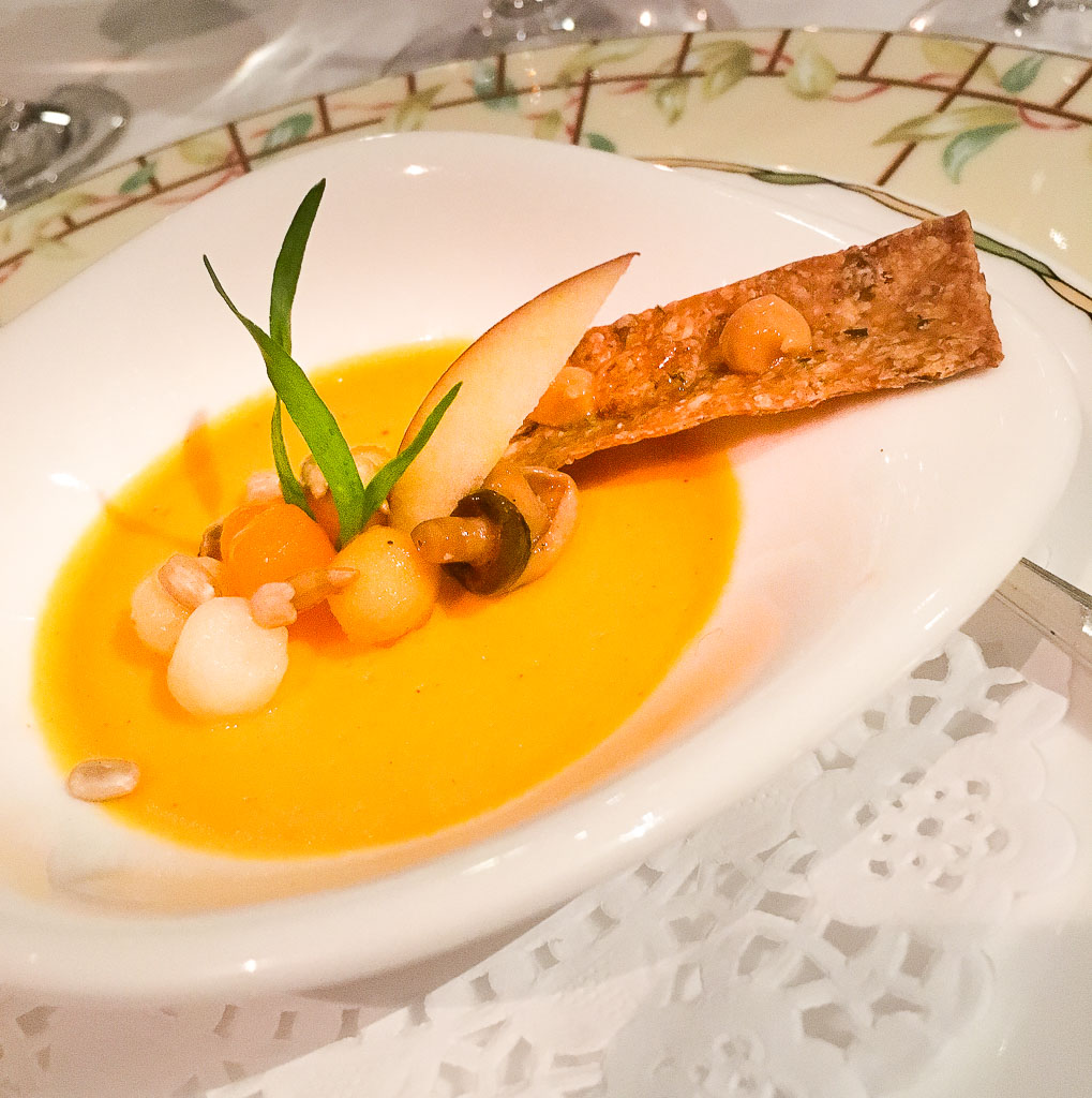 Course 1: Butternut Squash Soup- 7/10