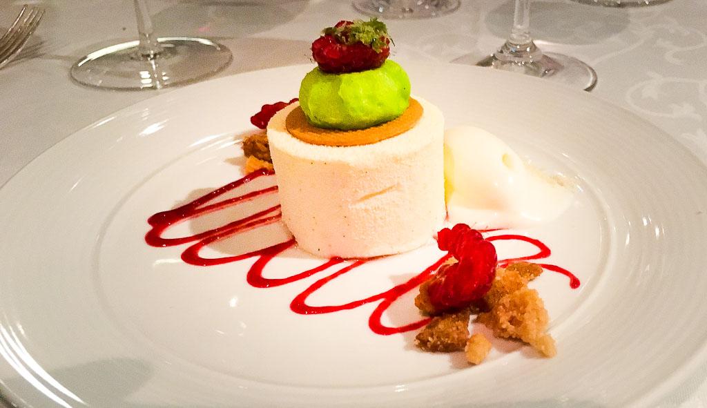Course 7: Yogurt + Raspberry + Marshmellow, 8/10