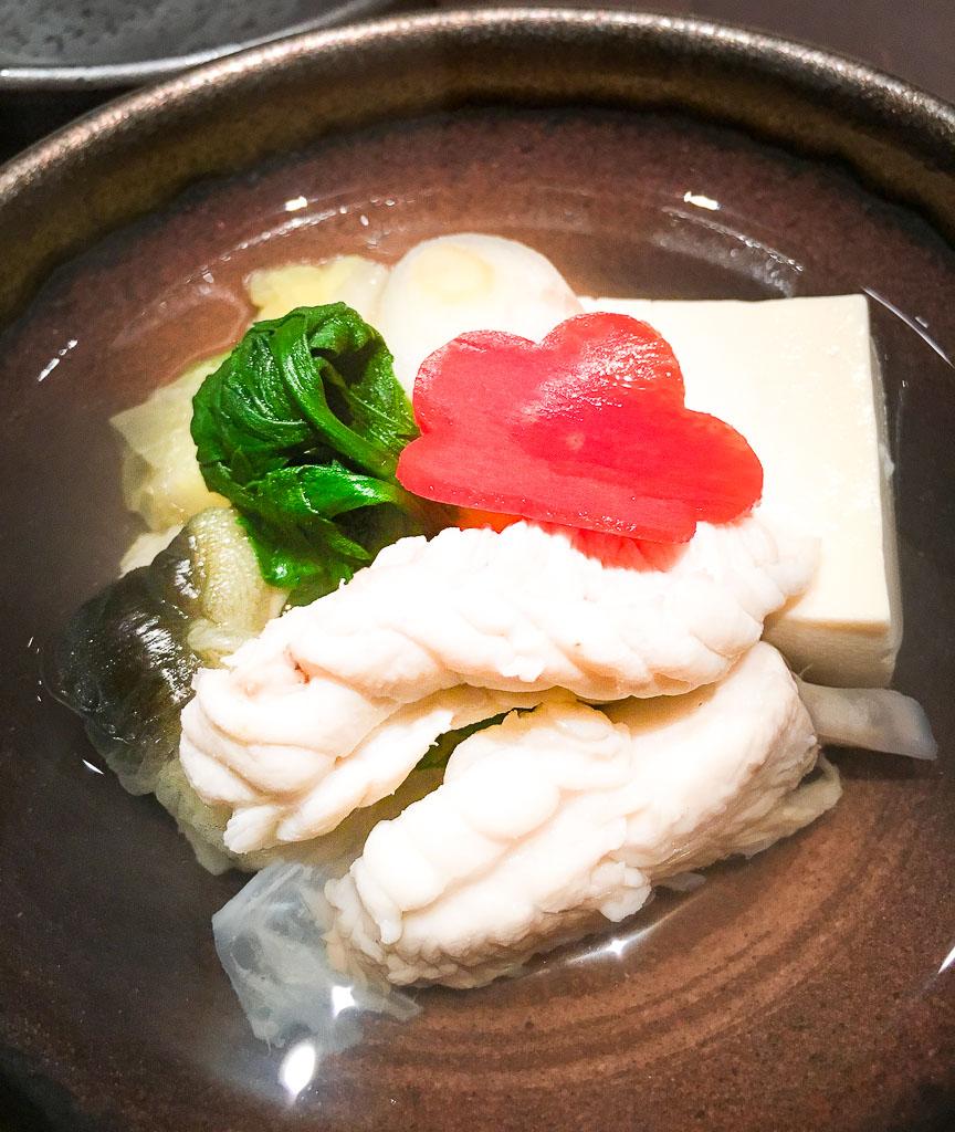 Course 5: Fugu Hot Pot, 8/10