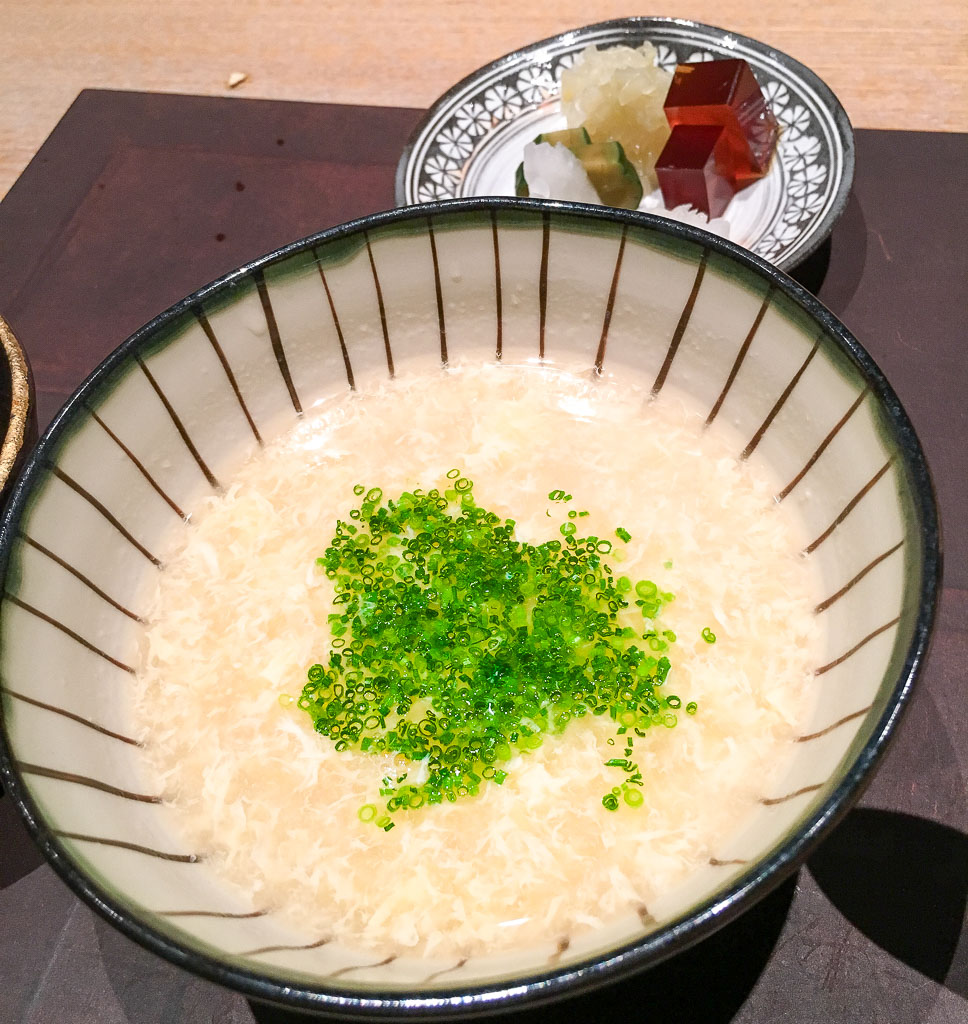 Course 6: Fugu Rice Porridge, 9/10