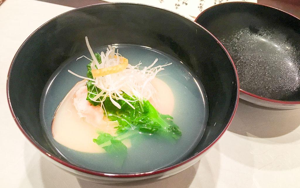 Course 3: Clam Soup. 8/10