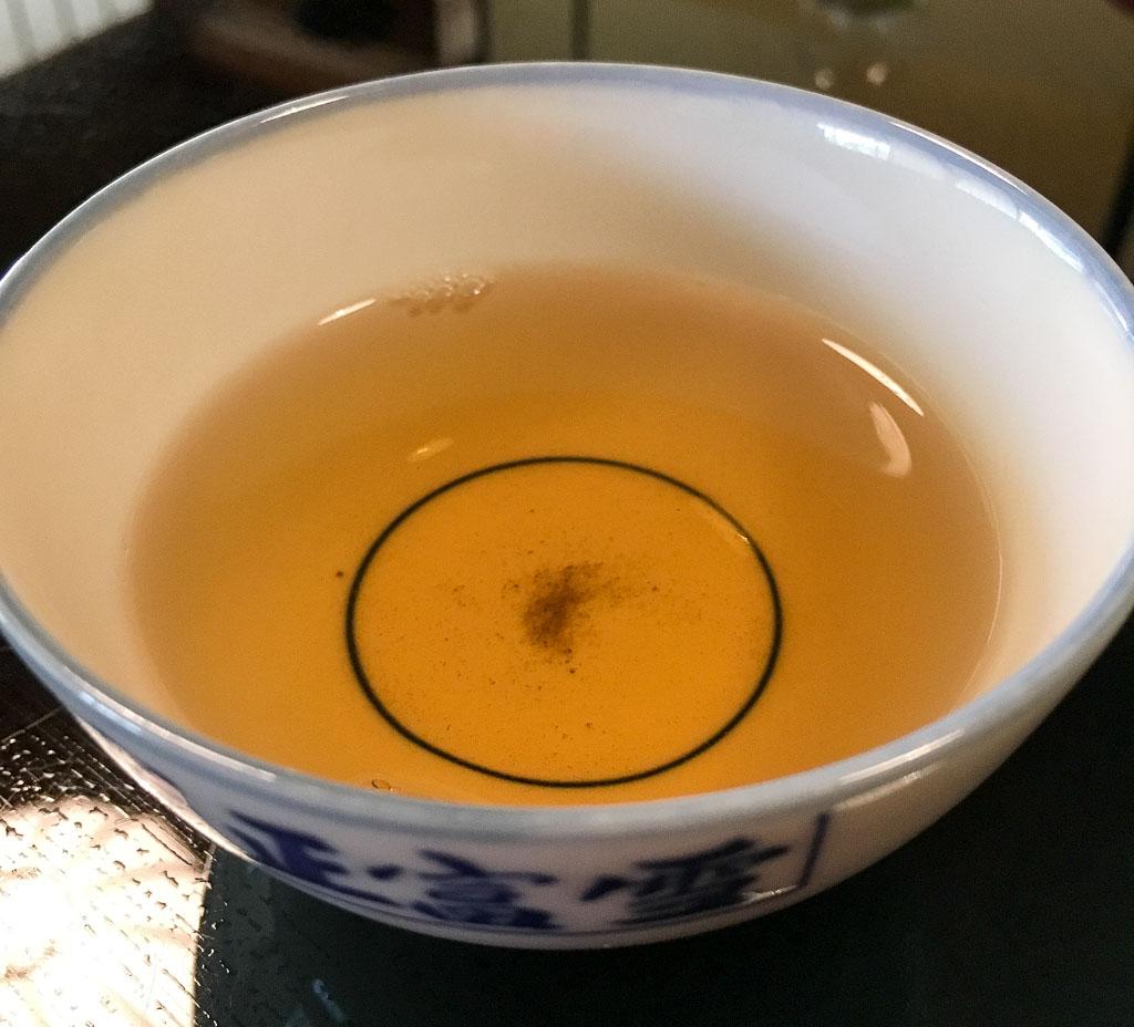 Last Sip: Roasted Brown Tea, 8/10