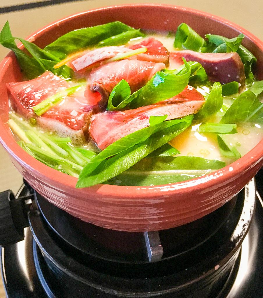 Course 8: Hotpot of Yellowtail + Tofu + Daikon Radish + Kintoki Carrot, etc. 9/10