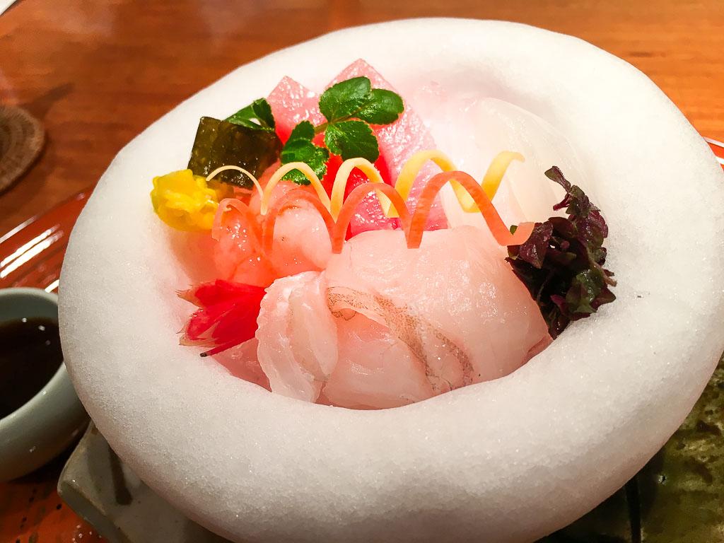 Course 2: Sashimi, 10/10