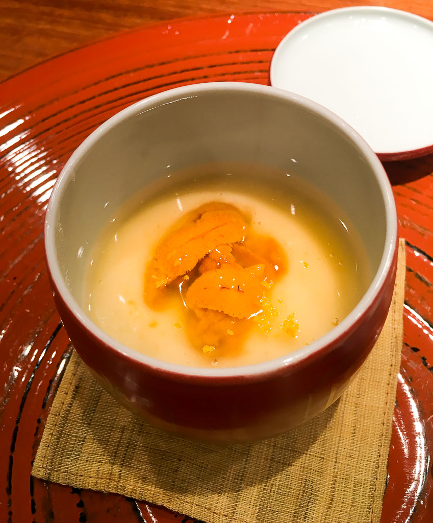 Course 4: Sea Urchin Soup, 9/10