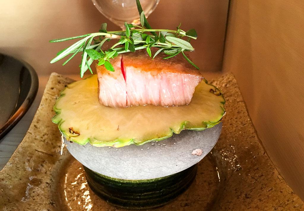Course 8: Kobe Beef + Pineapple, 10/10