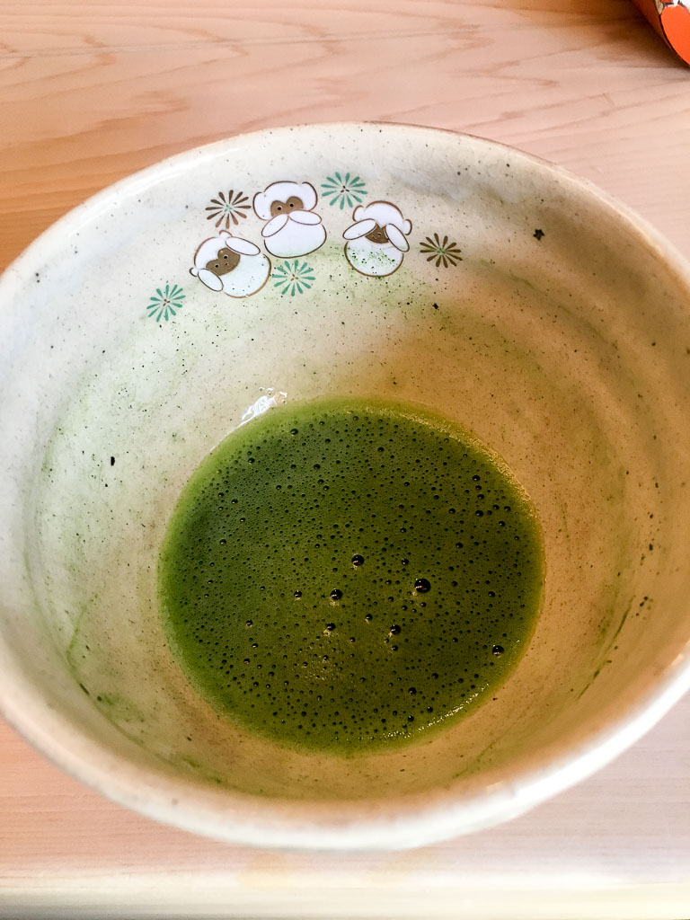 Course 13: Matcha Green Tea