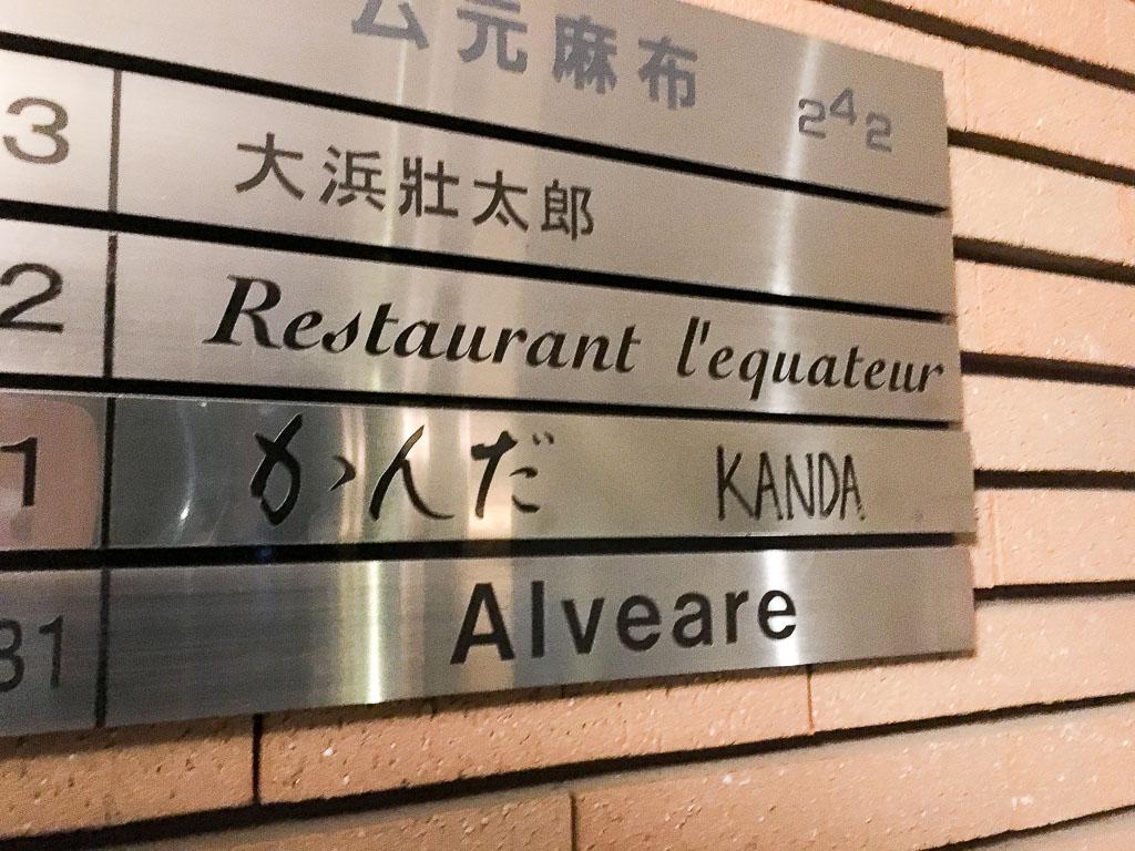 Kanda's Sign