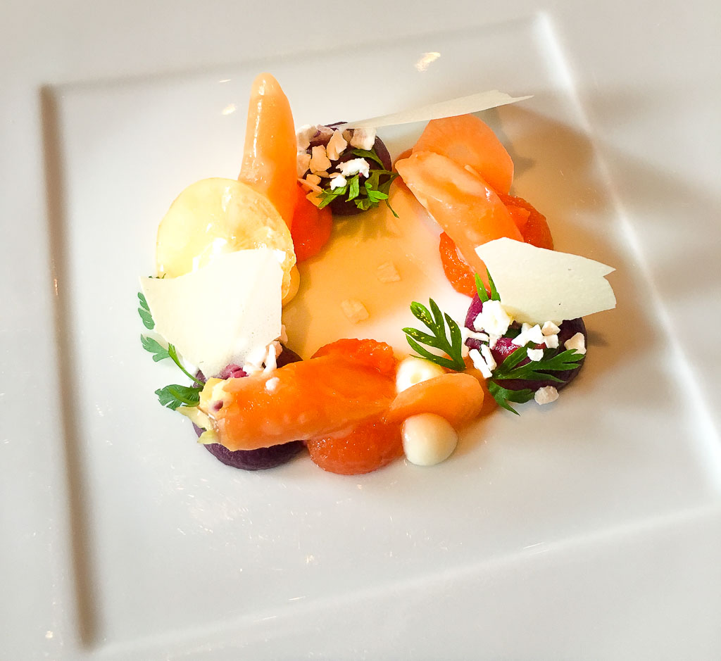"""Course 1: """"Variation of Carrots,"""" 9/10"""