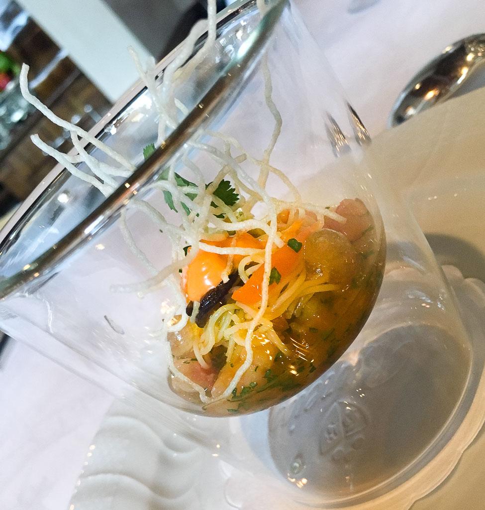 Course 2: Prawns + Glass Noodles. 8/10