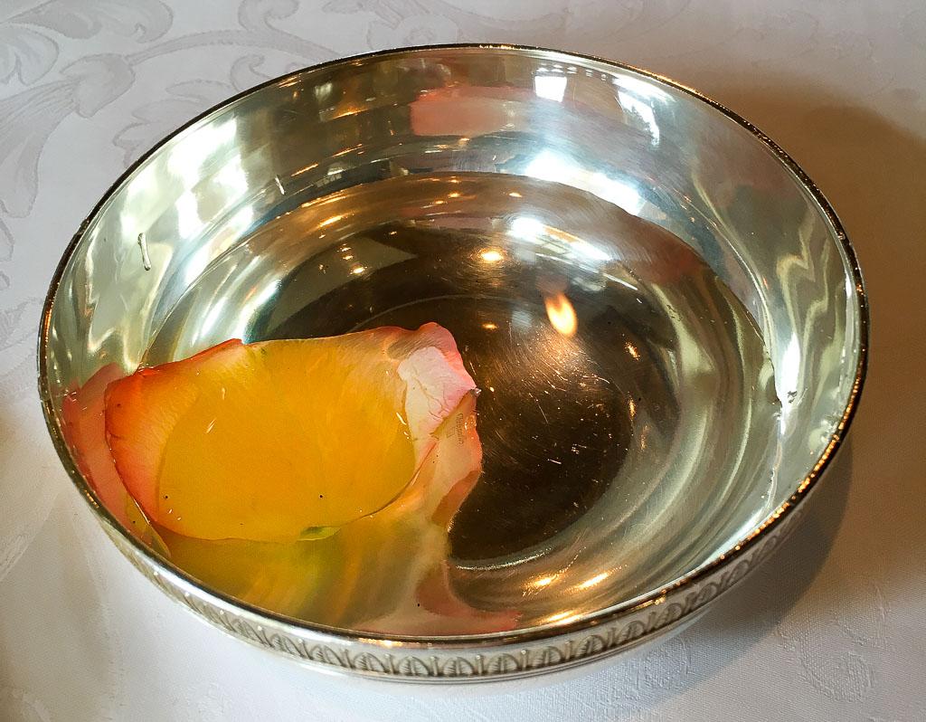 Warm Rose Water