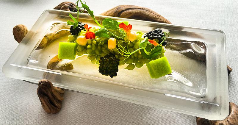 Course 6: Peas + Caviar, 9/10