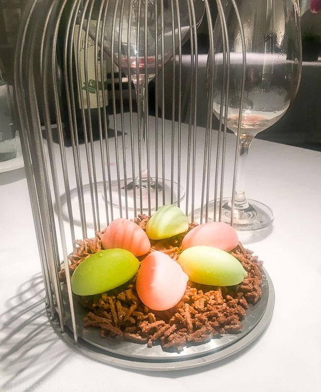 Course 10: Dessert Birdcage, 8/10
