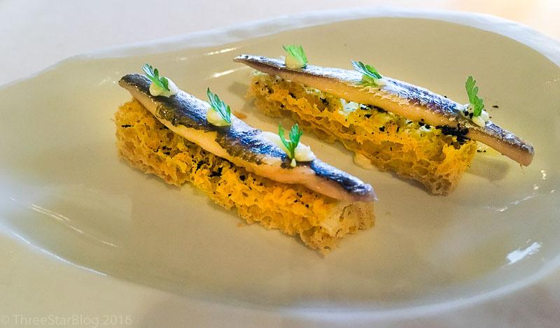 First Bites: Sardines + Sponge Bread, 8/10