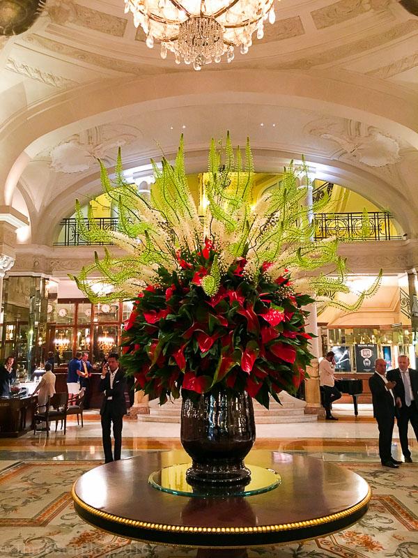 Hotel de Paris Lobby