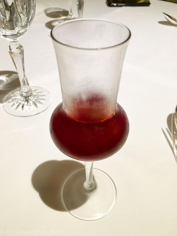 Bergamot/Raspberry Juice