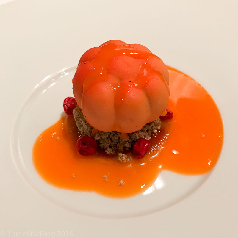 Course 9:Pumpkin + Cranberries + Yogurt, 8/10