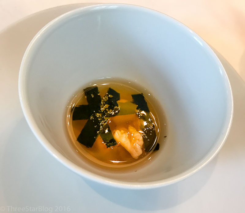 First Drink: Oolong Tea + Walnut + Seaweed, 9/10