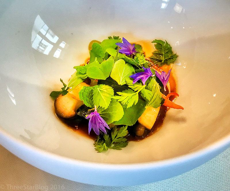 Course 4B: Mushroom + Mint + Garlic, 9/10