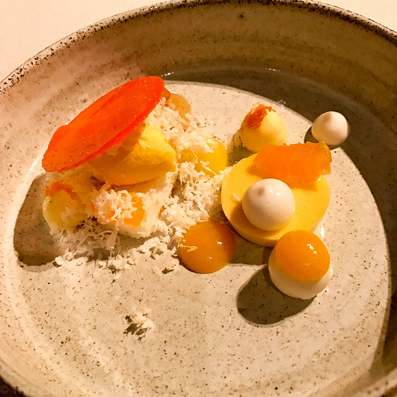 Course 12: Mandarin + Coconut, 7/10