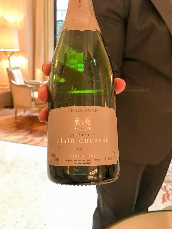 Alain Ducasse's Champagne