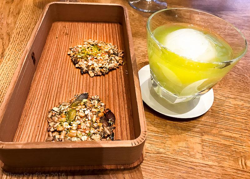 First Bites: Cereal Cookies + Watermelon/Seaweed Beverage, 6/10