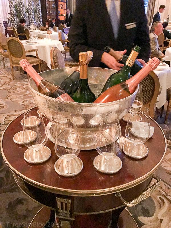Le Cinq Champagne Aperitif Cart