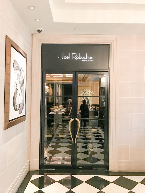 Joël Robuchon Singapore Main Entrance
