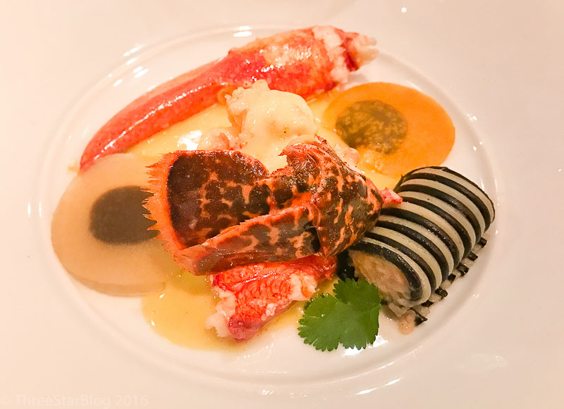 Course 4: Blue Lobster + Ravioli, 7/10