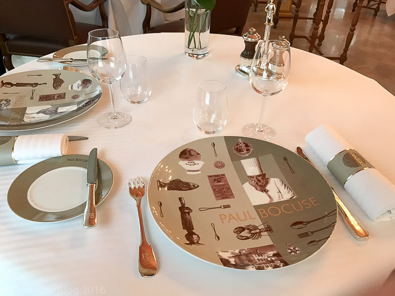 Paul Bocuse Place Setting