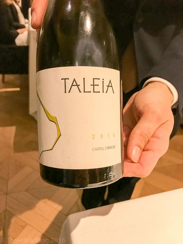 Taleia's 2014 Castell D'Encus