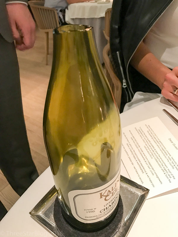 1995 Kalin Cellars Cuvée W Chardonnay, Livermore, California