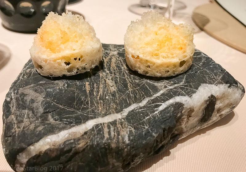 First Bites: Puffed Rice + Balsamic + Parmesan + Hazelnut, 5/10