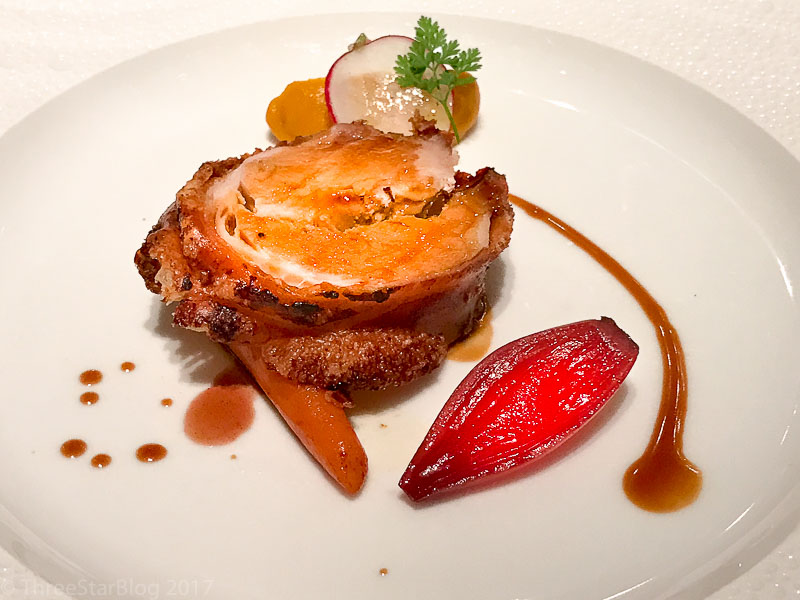 Course 5: Pork Loin + Carrots + Shallots, 6/10
