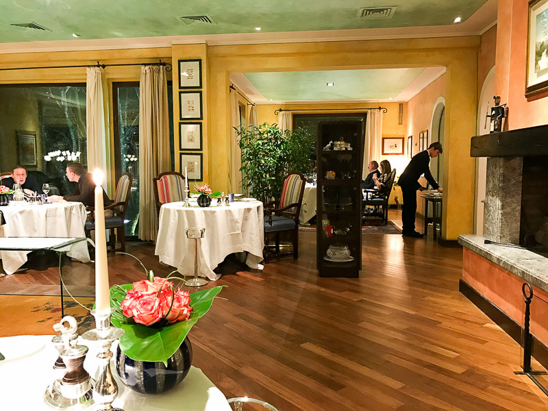 Dal Pescatore Dining Room
