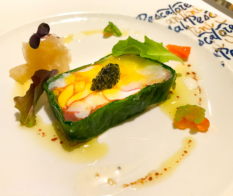 Course 3: Lobster Terrine + Royal Osetra Caviar, 9/10