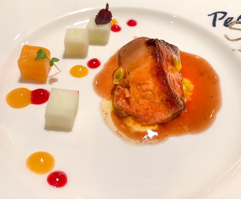 Course 5: Foie Gras + White Wine Sauce + Passion Fruit, 10/10