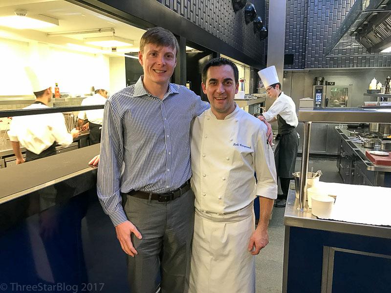 Head Chef Paolo Casagrande (right)