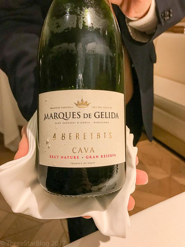 """Marques de Gelida's Brut Nature NV """"4 Heretats"""""""
